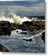 Tide Coming In Metal Print