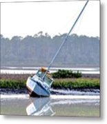 Tide Over Metal Print