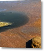 Tide Pool With Coquina Rock Metal Print
