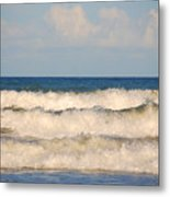 Tide Rolling To The Shores Metal Print