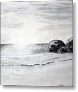 Tide Surf Metal Print