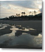 Tidepools At Dawn Metal Print