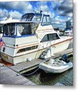 Tidewater Yacht Marina 5 Metal Print by Lanjee Chee