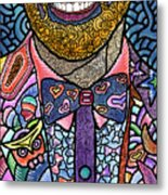 Tie the Knot for Equality Metal Print