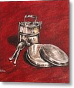 Tiffin Carrier - Still Life Metal Print