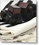 Tifillin And Talis Metal Print