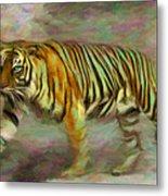 Save Tiger Metal Print