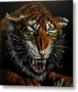 Tiger-1 Original Oil Painting Metal Print