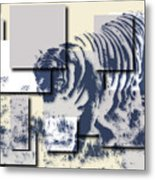 Tiger 5 Metal Print