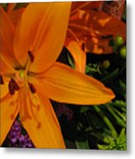Tiger Lily Bouquet Metal Print