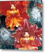 Tiger Orchids Metal Print