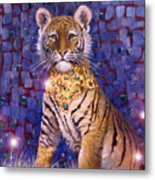 Tiger Royal Metal Print