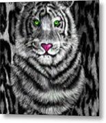 Tigerflouge Metal Print
