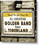 Tigerland Band Metal Print by Scott Pellegrin