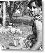 Tilak Devi 1985 Metal Print