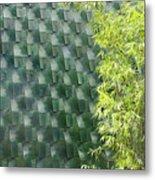 Tile Wall Of The Ringling Museum Asian Art Center Metal Print