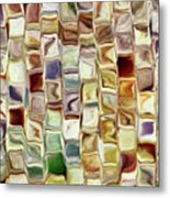 Tiled Abstract Metal Print