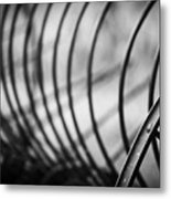 Tiller At The End Of A Day Metal Print