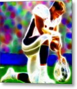 Tim Tebow Magical Tebowing 2 Metal Print