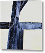 Timber Framing Detail Metal Print