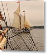 Timberwind Off The Bow Metal Print