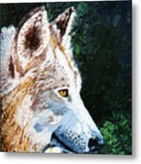 Timberwolf Metal Print