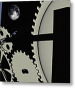 Time And Space Metal Print