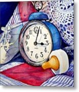 Time Flies Metal Print