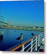 Time For A Cruise Metal Print