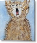 Time For Bed Metal Print