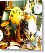 Time In A Jar Metal Print