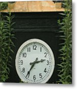 Time In The Garden Metal Print
