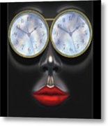 Time In Your Eyes Metal Print