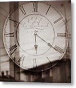 Time Is Infinite Metal Print