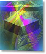 Time Machne Metal Print