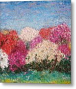 Time Of Rhododendron Metal Print
