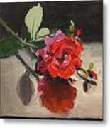 Time Of Roses Metal Print
