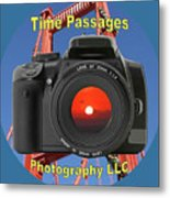 Time Passages Logo Metal Print
