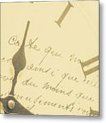 Time Signatures Metal Print