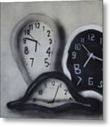 Time Slipping Away Metal Print