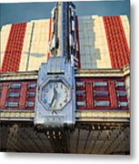 Time Theater Marquee 1938 Metal Print