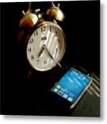 Time Then And Now Metal Print