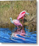 Time To Get Ready For Dinner Metal Print