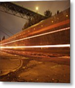 Time Train Metal Print