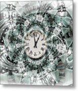 Time Warp Metal Print