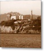 Timeless Alcatraz Metal Print