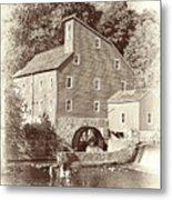 Timeless-clinton Mill N.j.  Metal Print