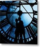 Timeless Love - Midnight Blue Metal Print