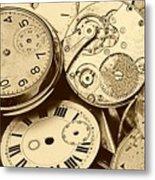 Timepieces Metal Print by John Short