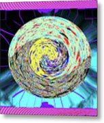 Time's Eye Metal Print